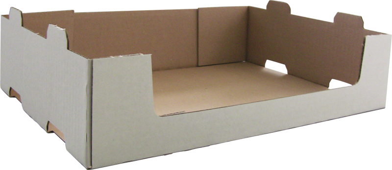 Caisse carton a coins collés - formeuse barquetteuse MIBOX
