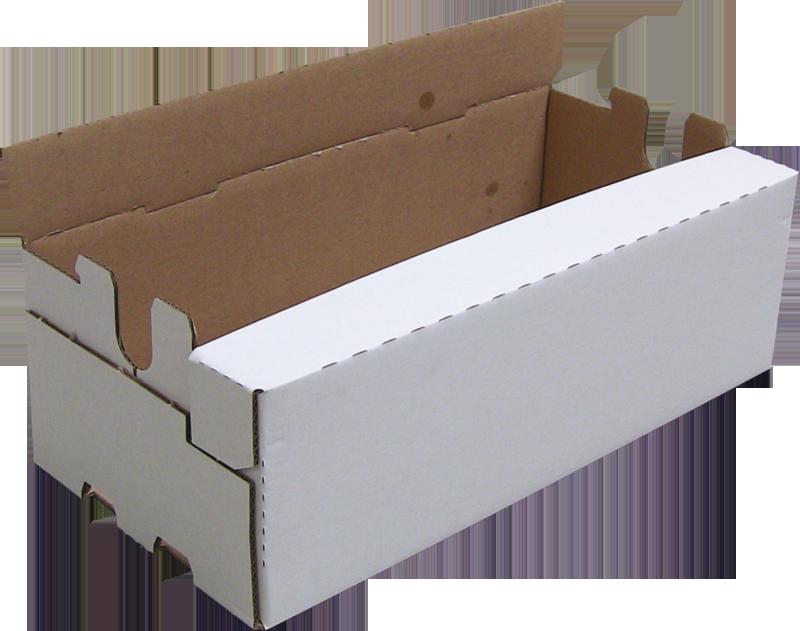 La caisse carton fermée formée avec une formeuse de caisse MIBOX