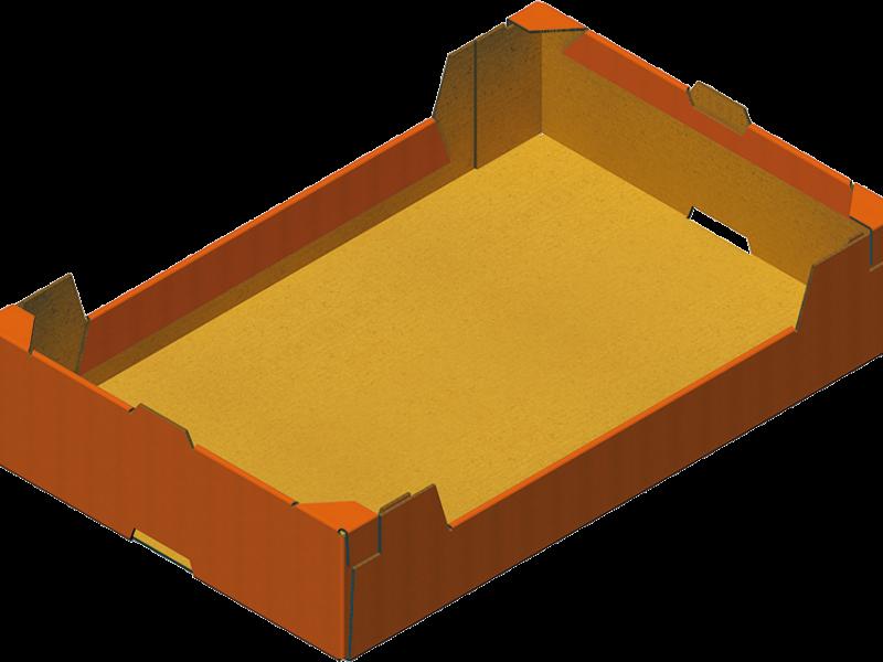 Caisse Trottoir Carton Réalisée Avec Formeuse Barquetteuse MIBOX