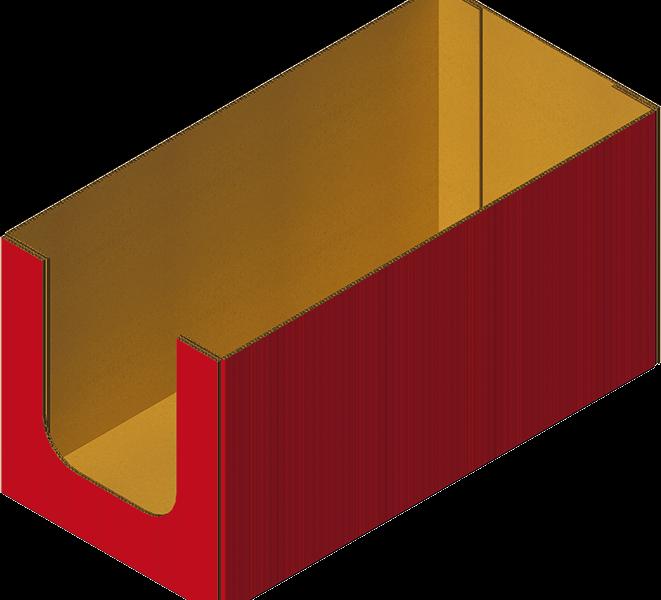 Caisse Prêt à Vendre Carton Collée Formée Avec Formeuse MIBOX
