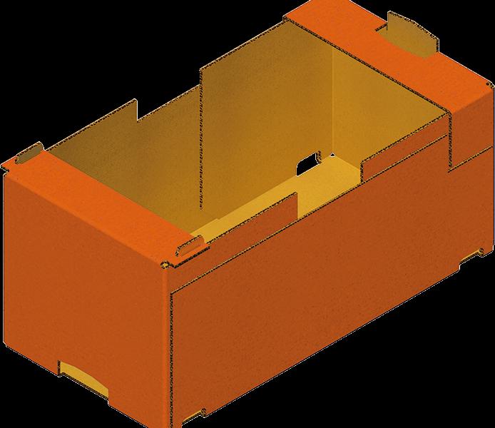 Caisse Trottoir En Carton Formage Carton Avec Formeuse Barquetteuse MIBOX