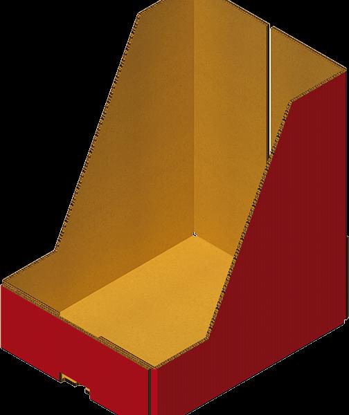 Caisse Carton Prêt à Vendre Avec 4 Coins Collés Machine A Carton Formeuse Barquetteuse MIBOX