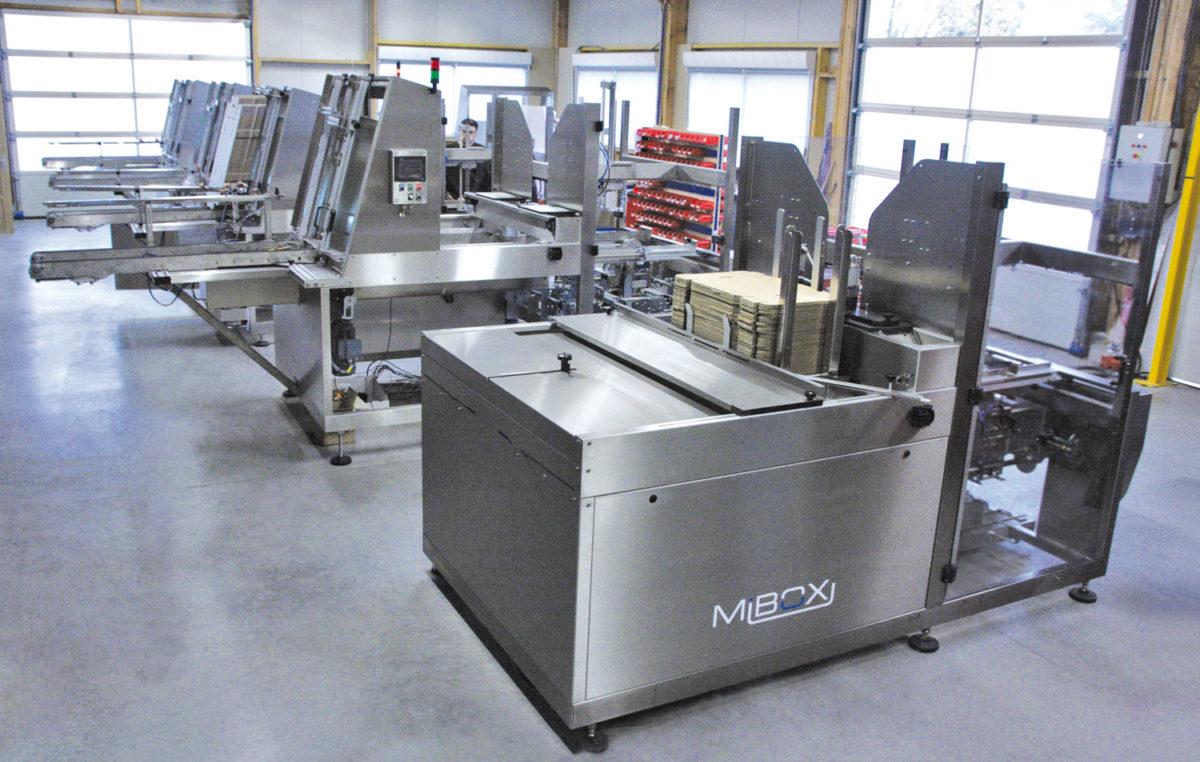 Fiables et productives Formeuses Barquetteuses MIBOX