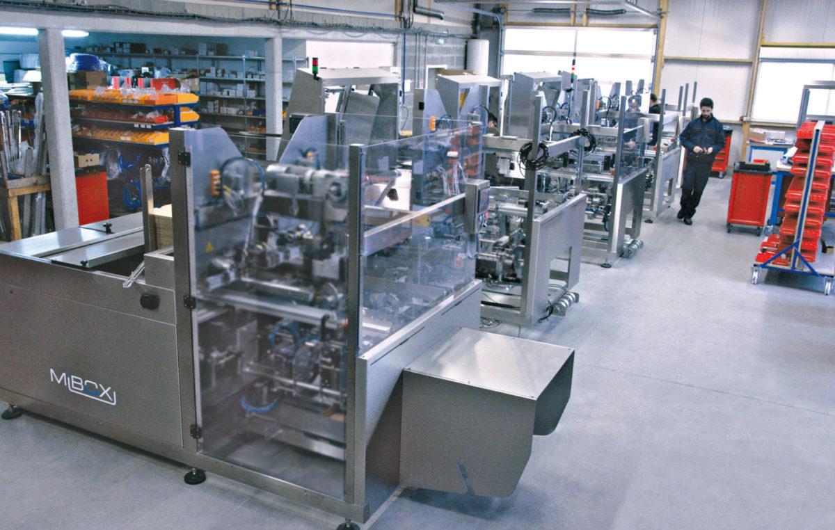 Formeuse barquetteuse MIBOX fabrication francaise