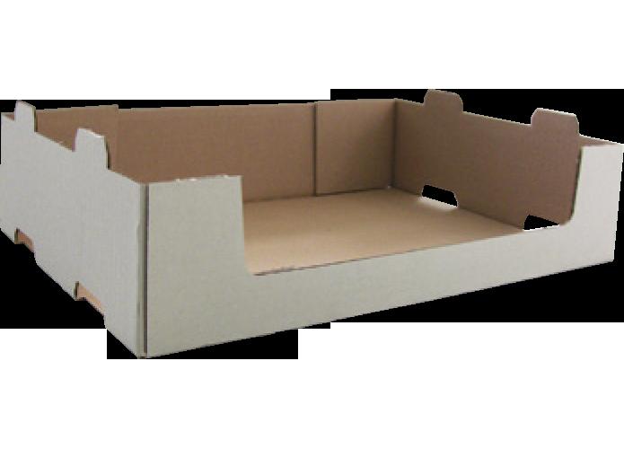 Boîte carton 4 coins collés (display) formée sur MIBOX D20