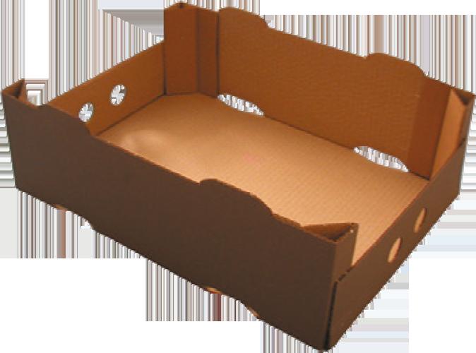 Caisse carton avec poutres dièdres Formeuse MIBOX D20